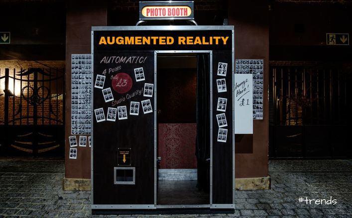 AR photo booth