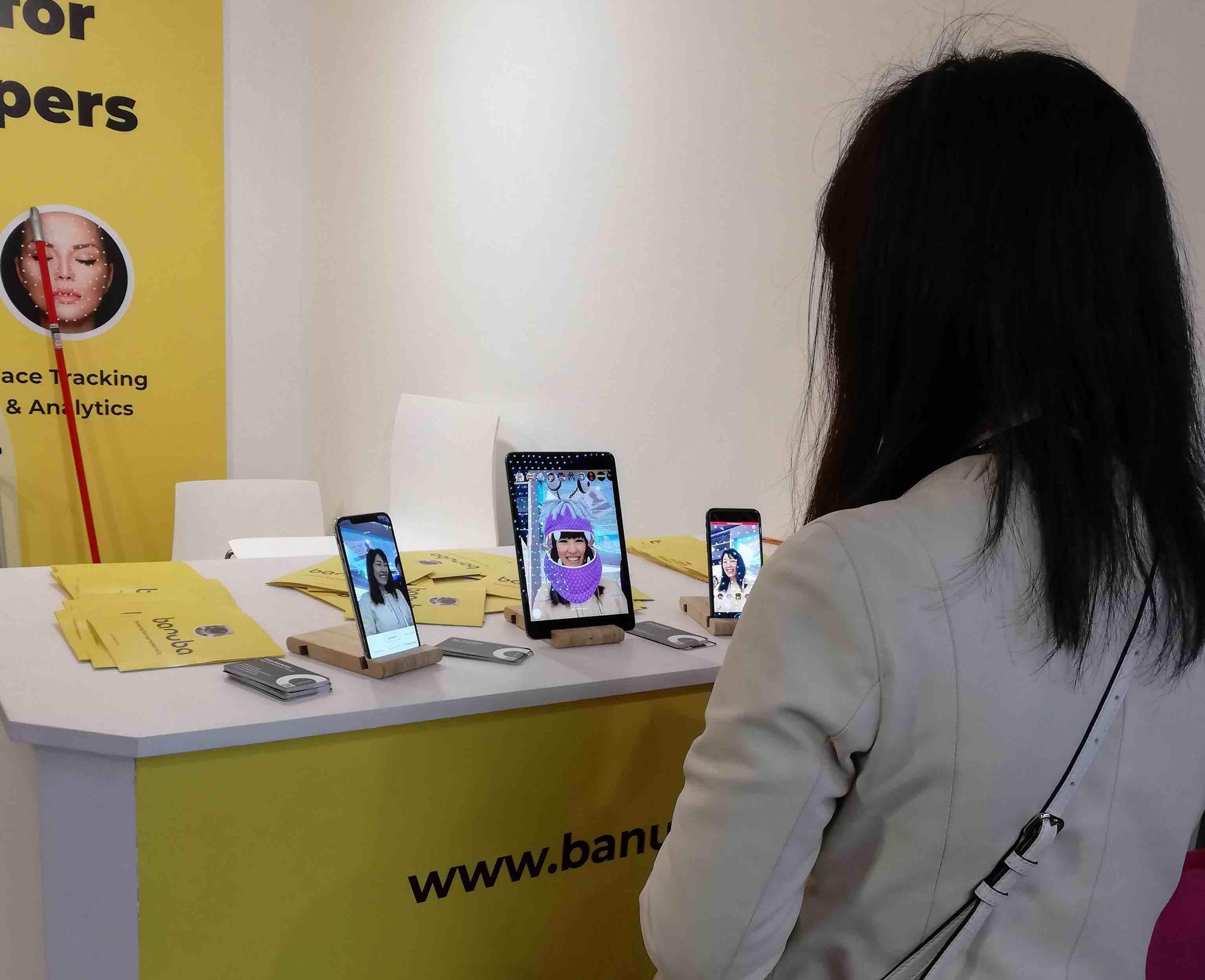 Banuba mobile world congress users
