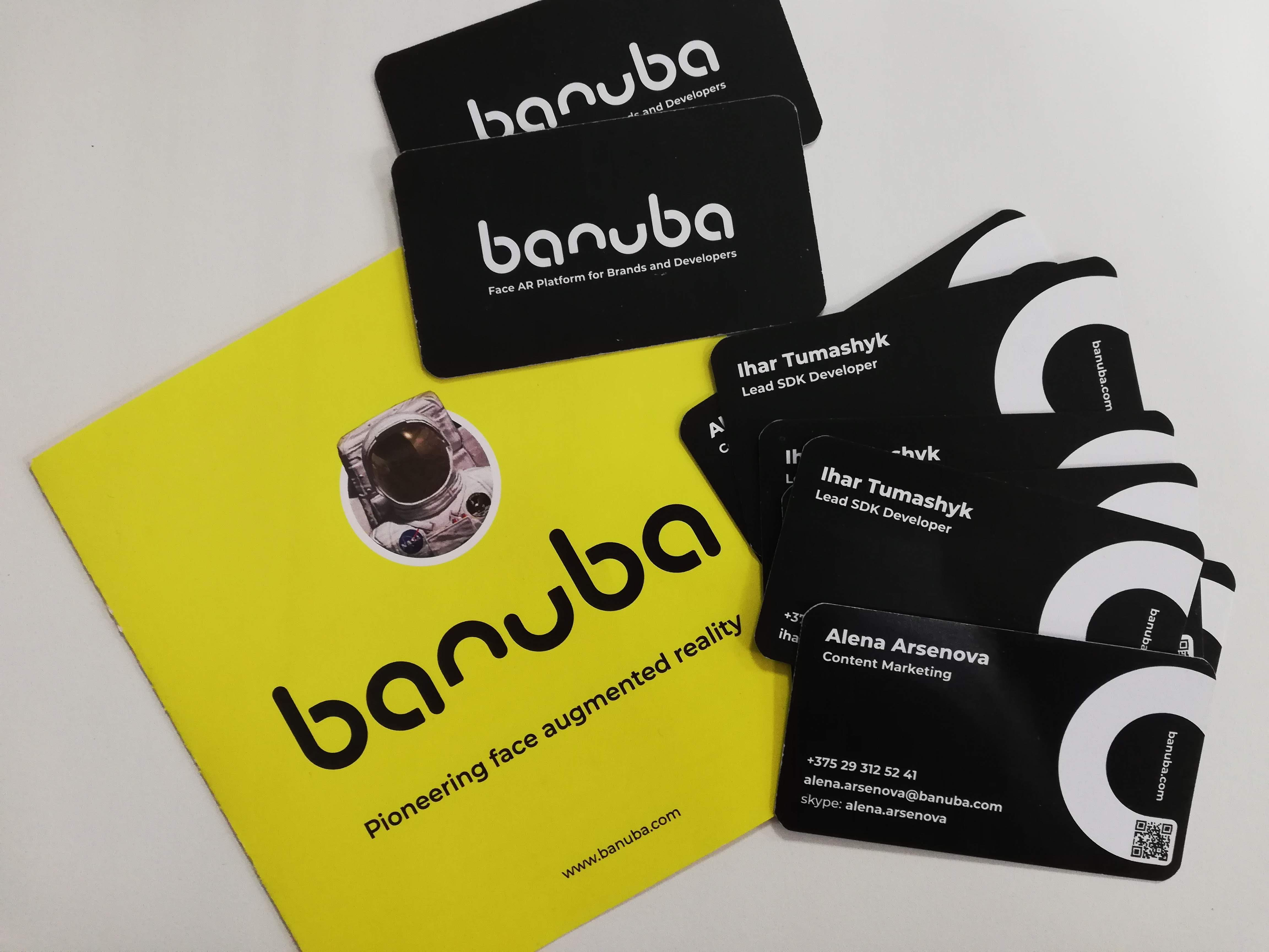 Mobile world congress banuba handouts