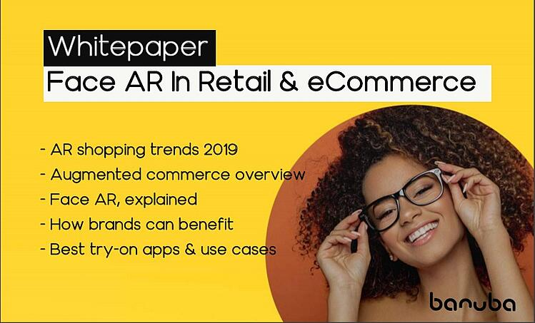 Face AR in retail and ecommerce WP preview