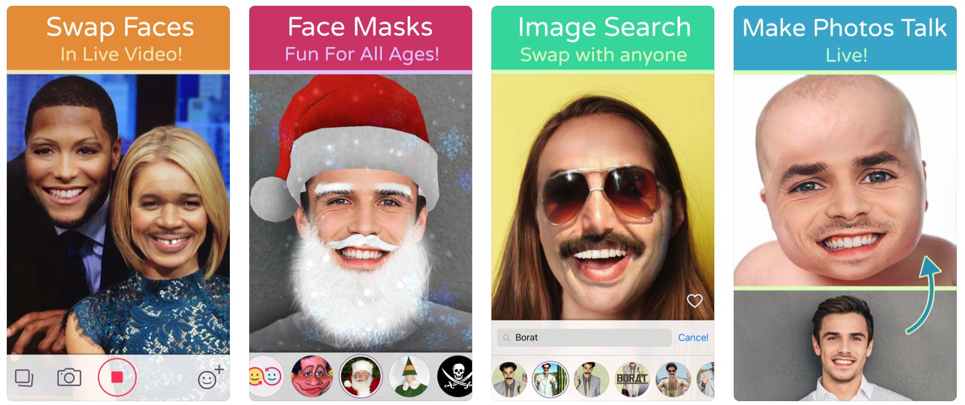 Face Swap camera face filters