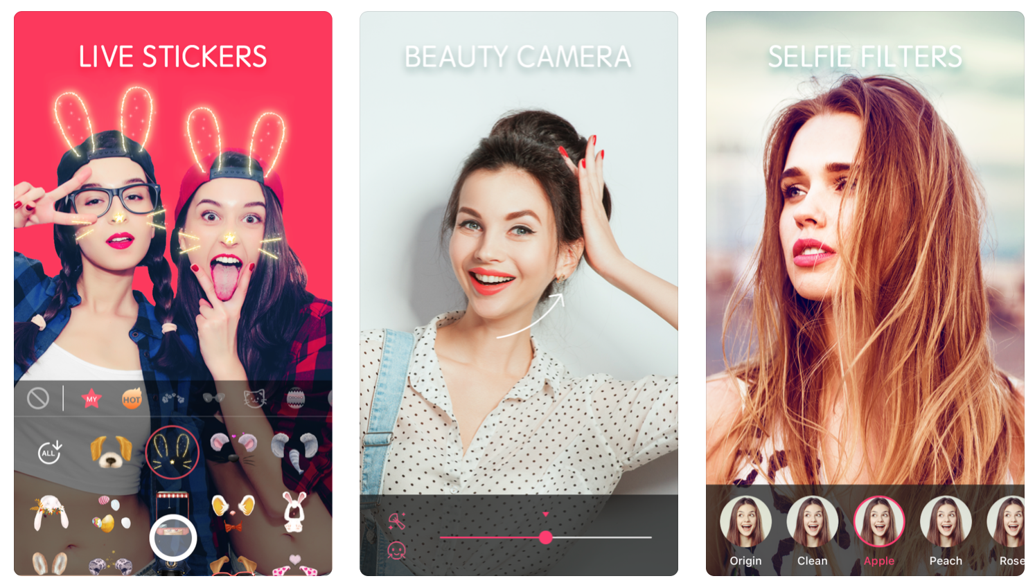 Sweet face camera face filters